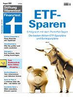 Heft 08/2020 Sparpläne: Sparen - aber richtig