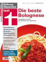 Heft 09/2012 Bolognese-Soßen: Die besten Nudelsoßen für Eilige