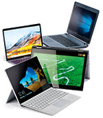 Laptops, Convertibles, Tablets mit Tastatur Test