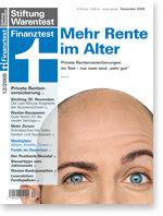 Heft 12/2009 Private Rentenversicherung: Nur zwei Tarife sehr gut