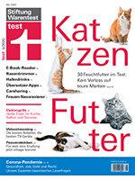 Heft 05/2020 Feuchtfutter für Katzen: Nur die Guten ins Näpfchen