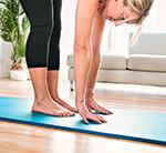 Yogamatte Meldung