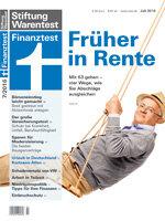 Heft 07/2016 Früher in Rente: So bleibt Ihnen mehr Geld