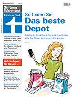 Heft 11/2020 Wertpapierdepot: Für jeden das richtige Depot