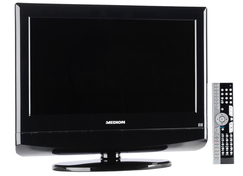 fernseher dvd fernseher medion u c schwarz dvd lcd tv. Black Bedroom Furniture Sets. Home Design Ideas