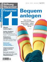 Heft 04/2013 Geldanlage für Bequeme: Das Pantoffel-Portfolio
