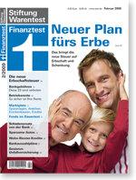 Heft 02/2009 Die neue Erbschaftsteuer: Neuer Plan fürs Erbe
