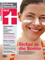 Heft 07/2015 Sonnenschutzmittel: Die Schutzgarde