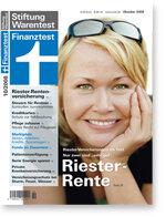 Heft 10/2008 Riester-Rentenversicherung: Vorsorgen mit Ausdauer