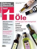 Heft 09/2015 Gourmet-Öle: Fast jedes zweite ist mangelhaft