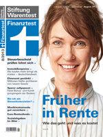 Heft 08/2013 Gesetzliche Rente: Früher in Rente – so geht's