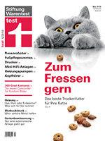 Heft 05/2018 Trockenfutter für Katzen im Test: Her mit dem besten Futter