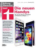 Heft 11/2014 Smartphones: Apple jetzt ganz groß