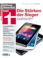 Heft 01/2013 Smartphones: Außenseiter vorn