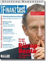 Heft 05/2008 Rürup-Rente: Altersvorsorge mit Steuerkick