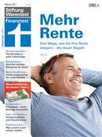 Heft 02/2017 Gesetzliche Rente: Mit der Flexirente zum Rentenplus