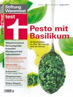 Heft 08/2013 Basilikum-Pesto: Fertigsoßen weit weg vom Original