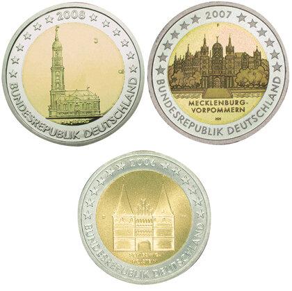 2 Euro Münzen Neue Motive Stiftung Warentest