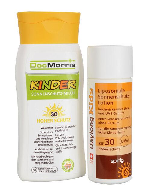 Sonnenschutz Für Kinder Von Docmorris Und Spirig Nicht Wasserfest