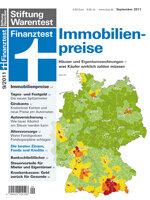 Heft 09/2011 Immobilienpreise: Jetzt noch günstig kaufen