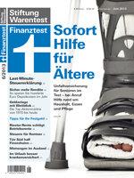 Heft 06/2013 Unfallversicherung für Senioren: Fünf Versicherungen empfehlenswert