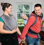 Babytragen und Tragetücher im Test Test