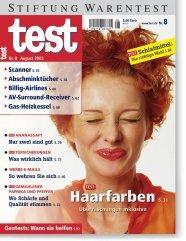 Heft 08/2003 Haarfarben: Überraschungen inklusive