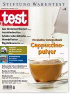 Heft 06/2006 Cappuccinopulver: Viel Zucker, wenig Schaum