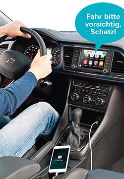 Smartphone im Auto - Handy und Auto via App verbinden - Test ...