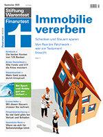 Heft 09/2020 Immobilien vererben: Mit Schenken Steuern sparen