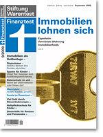 Heft 09/2009 Immobilien als Geldanlage: Ein Fels in der Brandung