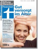 Heft 06/2008 Der Altersvorsorgecheck: Rechnen für die Rente