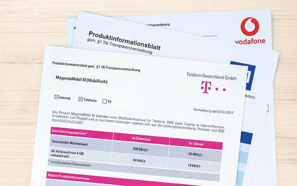 Telefontarife Anbieter Missachten Infopflicht Stiftung Warentest