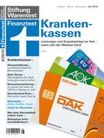Heft 06/2010 Gesetzliche Krankenkassen: 104 Kassen im Test