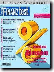 Heft 08/2005 Zinstest: Sichere Zinsen