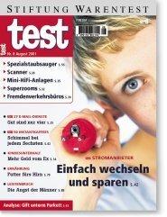 Heft 08/2001 Stromwechsel: Erleuchtung braucht Zeit
