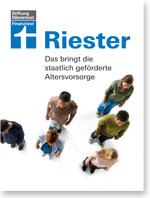 Serie Riester-Rente, Teil 6: Riester im Ruhe­stand Special