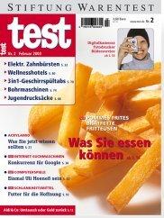 Heft 02/2003 Pommes Frites: Die können Sie essen