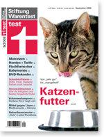 Heft 09/2008 Katzenfutter: Weniger ist mehr