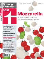 Heft 05/2016 Mozzarella im Test: Kuh oder Büffel, Aldi oder Galbani?