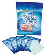 Oral-B Brush-Aways Schnelltest