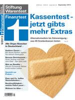 Heft 09/2013 Gesetzliche Krankenkassen: Die richtige Kasse für uns