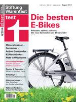 Heft 08/2014 Elektrofahrräder: Am Rad gedreht
