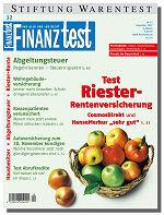 Heft 12/2007 Riester-Rentenversicherungen: Gut für treue Sparer