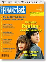 Heft 10/2006 Private Rentenversicherung: Die besten Policen für Sie und Ihn
