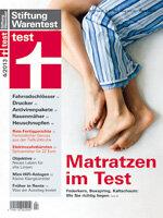 Heft 04/2013 Matratzen: Hier liegen Sie richtig