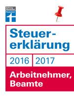 Steuererklärung 2016/2017 - Arbeitnehmer, Beamte: Schritt für Schritt zum ausgefüllten Formular