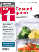 Heft 02/2012 Dampfgarer: Gute schon ab 46 Euro