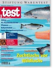 Heft 01/2005 Tiefkühllachs: Bestnote für Zuchtlachs