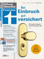 Heft 10/2016 Hausratversicherung: Wichtiger denn je